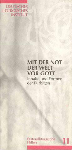Liturgisches Institut Trier Fürbitten